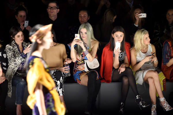 Desigual - Front Row - Fall 2016 New York Fashion Week: The Shows