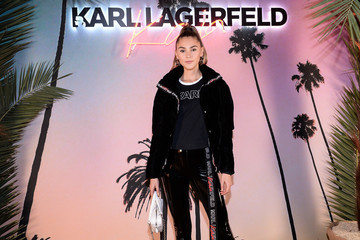 Stefanie Giesinger Karl Lagerfeld X Kaia Capsule Collection Launch - Photocall