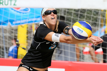 Stefanie Schwaiger FIVB Moscow Grand Slam - Day 1