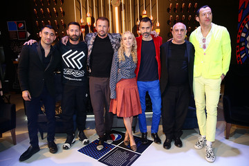 "Stefano Giovannoni Pepsi And Nicola Formichetti Host The #PepsiChallenge Round Table At The PepsiCo ""Mix It Up"" Space During Milan Design Week"
