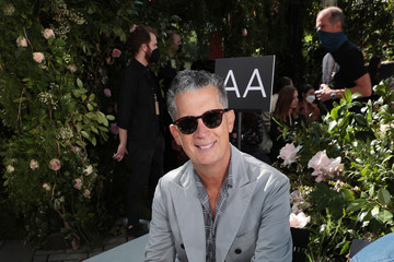 Stefano Tonchi SP22 Michael Kors Collection Runway Show - Front Row & Backstage