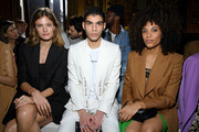 (EDITORIAL USE ONLY) Constance Jablonski, Samy and Stéfi Celma attend the Stella McCartney show as part of the Paris Fashion Week Womenswear Fall/Winter 2020/2021 on March 02, 2020 in Paris, France.
