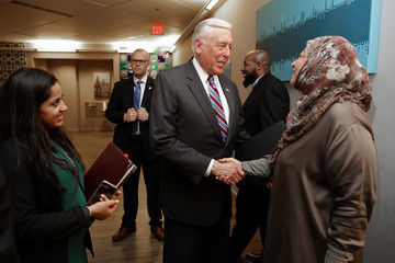 Steny Hoyer Democratic Reps Visit MD Muslim Association to Discuss Trump Muslim Ban