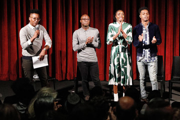 Stephan James Kiki Layne The Academy Of Motion Picture Arts And Sciences Hosts An Official Screening Of 'If Beale Street Could Talk'