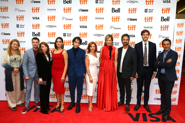 2019 Toronto International Film Festival - 'Bad Education' Premiere [bad education,red carpet,event,carpet,red,premiere,flooring,formal wear,management,rafael casal,catherine curtin,stephanie kurtzuba,allison janney,ray romano,premiere,l-r,toronto international film festival,premiere]
