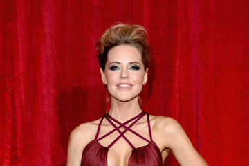 Stephanie Waring British Soap Awards 2016 - Red Carpet - Arrivals