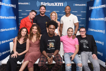 Stephen Amell SiriusXM's Entertainment Weekly Radio Broadcasts Live From Comic Con in San Diego