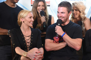 Stephen Amell SiriusXM's Entertainment Weekly Radio Channel Broadcasts From Comic Con 2017 - Day 3