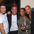 Stephen Belafonte Jonas Tahlin, CEO Absolut Elyx Entertains Nick Ede And Friends At His Private Home In West Hollywood