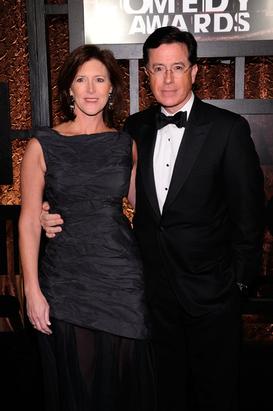 Stephen Colbert with beautiful, Wife Evelyn McGee