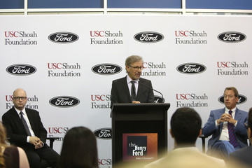 Stephen D. Smith USC Shoah Foundation Ambassadors for Humanity Gala Honoring William Clay Ford, Jr. - Press Conference & Tour