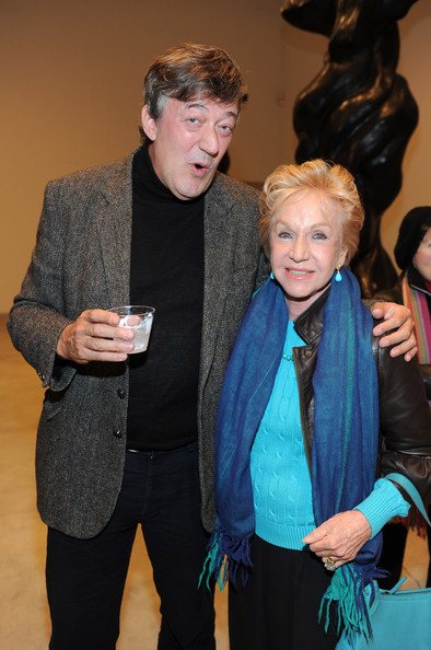 Stephen Fry Pat York Photos Photos - Zimbio