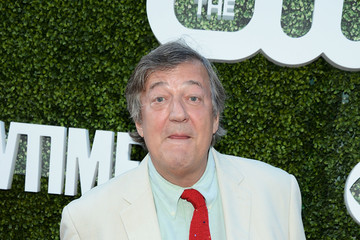 Stephen Fry CBS, CW, Showtime Summer TCA Party - Arrivals