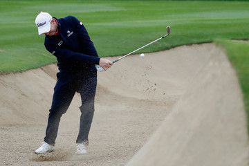 Stephen Gallacher Omega Dubai Desert Classic - Day Two