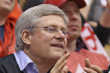 Stephen Harper IIHF World Junior Championship