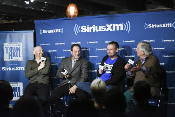 Comedian Bill Burr Hosts A SiriusXM Headliners Avent With The Cast Of 'Barry' [event,convention,news conference,technology,journalist,world,media,games,collectibles,bill burr,cast,siriusxm headliners,barry,henry winkler,stephen root,alec berg,meltdown comics,event]