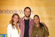 Sonya Curry and Stephen Curry - Basketball Player Photos Photo