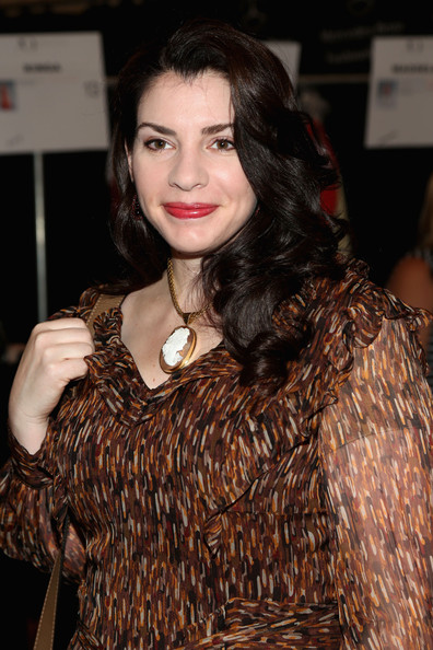 Stephenie Meyer - Carolina Herrera - Backstage - Spring 2013 Mercedes-Benz Fashion Week