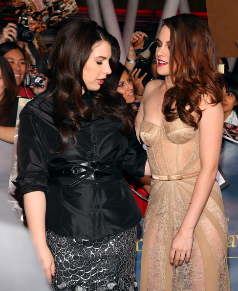 "Stephenie Meyer - Premiere Of Summit Entertainment's ""The Twilight Saga: Breaking Dawn - Part 2"" - Red Carpet"