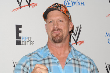 Steve Austin Arrivals at WWE's 'Superstars for Hope' Event