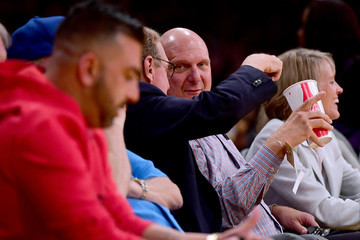 Steve Ballmer Los Angeles Clippers v Los Angeles Lakers