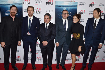 Steve Carell Ryan Gosling Celebs Attend the Closing Night Gala Premiere of Paramount Pictures' 'The Big Short' - Red Carpet