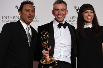 Steve Coogan 45th International Emmy Awards - Press Room