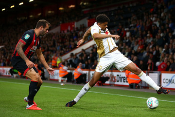 Steve Cook AFC Bournemouth vs. Milton Keynes Dons - Carabao Cup Second Round