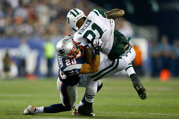 Steve Gregory New York Jets v New England Patriots