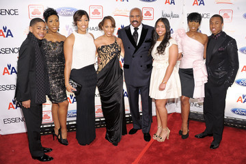 Wynton Harvey Steve Harvey Hosts 2nd Annual Steve Harvey Foundation Gala In New York - Arrivals