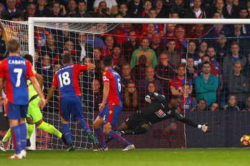 Steve Mandanda Crystal Palace v Liverpool - Premier League