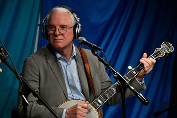 Steve Martin Steve Martin And The Steep Canyon Rangers Perform On SiriusXM's Bluegrass Junction Channel From The SiriusXM Studios In Washington D.C.