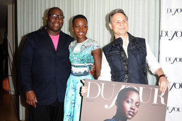 Steve McQueen Lupita Nyong'o DuJour Magazine's Jason Binn Celebrates Lupita Nyong'o Cover Along With Other Nominees For Great Performances