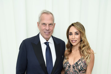 Steve Tisch Katia Francesconi 26th Annual Elton John AIDS Foundation Academy Awards Viewing Party sponsored by Bulgari, celebrating EJAF and the 90th Academy Awards - Red Carpet