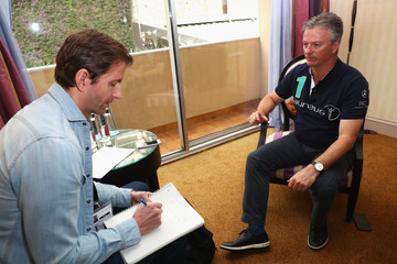 Steve Waugh Media Interviews - 2017 Laureus World Sports Awards - Monaco