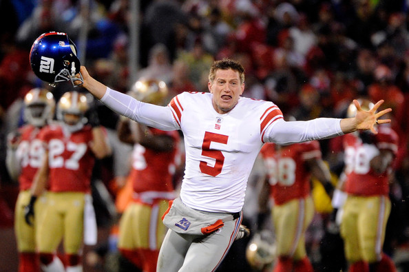 Steve Weatherford - NFC Championship - New York Giants v San Francisco 49ers
