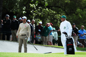 Steve Williams The Masters - Round One