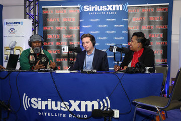 Steven Cohen SiriusXM at Super Bowl 50 Radio Row - Day 2