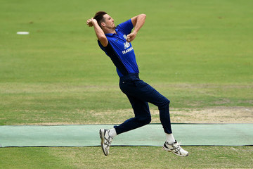 Steven Finn ECB North v South Series - Game One