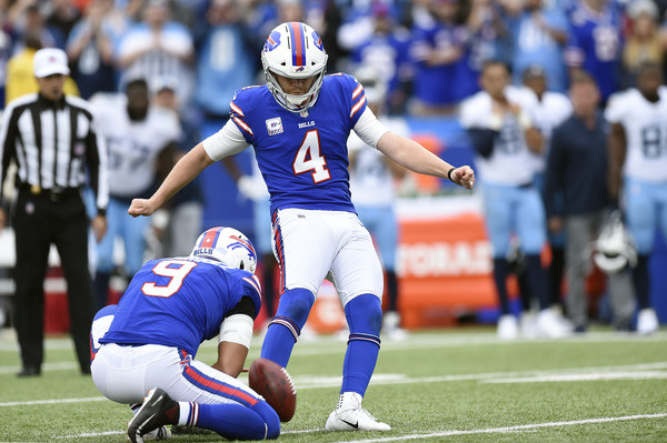 Steven Hauschka Photos Photos - Tennessee Titans vs. Buffalo Bills ... 3a0accf93