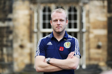 Steven Naismith Scotland Training Session