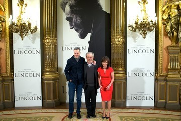 Steven Spielberg Daniel Day-Lewis 'Lincoln' Madrid Photocall