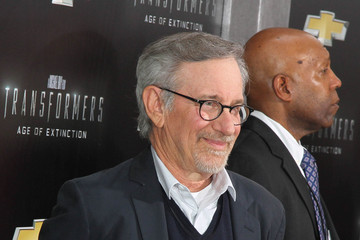 Steven Spielberg 'Transformers: Age of Extinction' Premieres in NYC