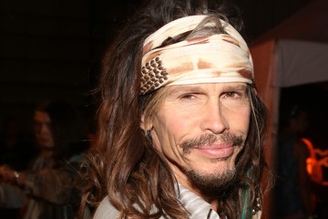 Steven Tyler NYLON And Olay Fresh Effects Present Neon Carnival With GUESS