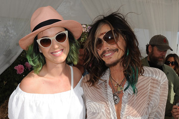 Steven Tyler Moet & Chandon Ice Imperial Debuts At The Lacoste Beautiful Desert Pool Party
