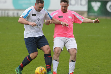 Stevi Ritchie Celebrity Charity Match At Northampton Town Football Club
