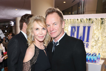 Sting FIJI Water at the 74th Annual Golden Globe Awards