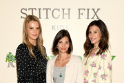 (L-R) Co-President of Baby2Baby Kelly Sawyer Patricof, Maria Duenas Jacobs and Co-President of Baby2Baby Norah Weinstein attend the Stitch Fix Kids x Baby2Baby PJ Party at The Wonder on May 30, 2019 in New York City.