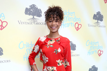Storm Reid Children Mending Hearts' 9th Annual Empathy Rocks