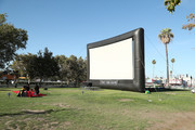 General view at the Street Food Cinema John Singleton Tribute With 'Boyz N The Hood' Screening at Exposition Park on July 27, 2019 in Los Angeles, California.